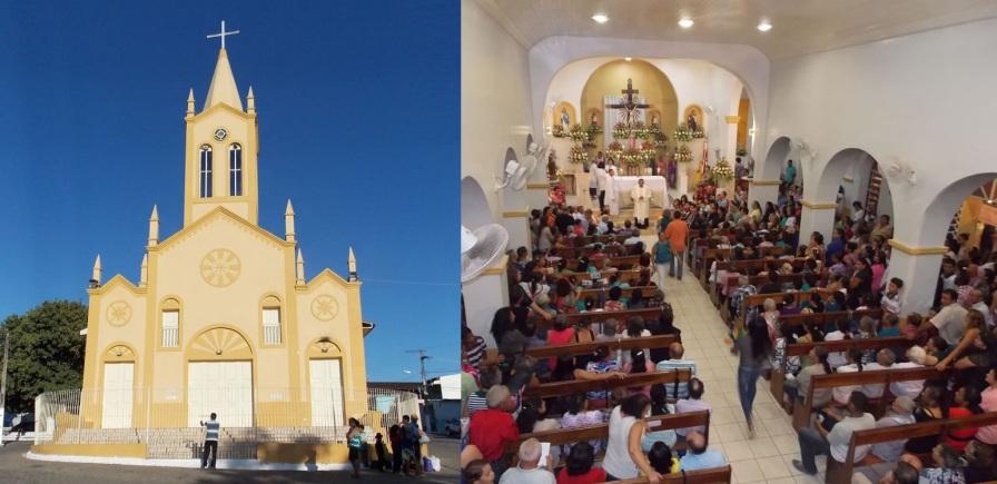 24 de Agosto — Igreja Matriz Santa Cruz — Taquarana (AL) — 55 Anos em 2017.
