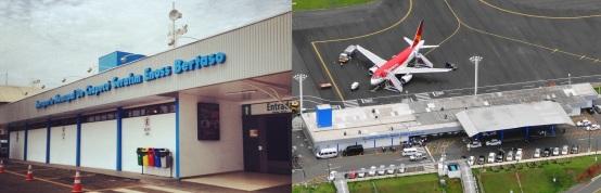 25 de Agosto — Aeroporto Serafim Bertaso — Chapecó (SC) — 100 Anos em 2017.
