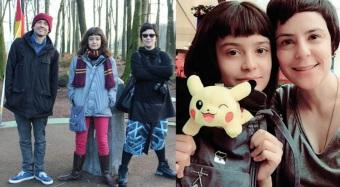25 de Agosto — Fernanda Takai - 1971 – 46 Anos em 2017 - Acontecimentos do Dia - Foto 17 - Fernanda Takai, Nina e John Ulhoa.
