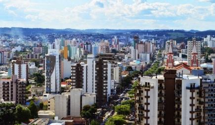 25 de Agosto — Foto aérea— Chapecó (SC) — 100 Anos em 2017.