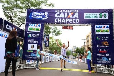25 de Agosto — Meia Maratona — Chapecó (SC) — 100 Anos em 2017.