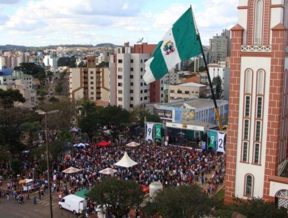 25 de Agosto — Rádio Chapecó - Festa de 2009 — Chapecó (SC) — 100 Anos em 2017.