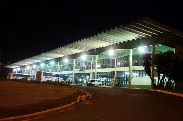 25 de Agosto — Terminal Rodoviário — Chapecó (SC) — 100 Anos em 2017.