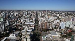 25 de Agosto — Vista panorâmica — Chapecó (SC) — 100 Anos em 2017.
