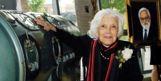 26 de Agosto — Albert Sabin - 1906 – 111 Anos em 2017 - Acontecimentos do Dia - Foto 20 - Heloísa Dunshee de Abranches Sabin, esposa de Albert, em 2010.