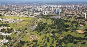 26 de Agosto — Foto aérea da cidade — Campo Grande (MS) — 118 Anos em 2017.
