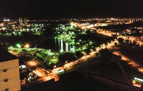 26 de Agosto — Fotografia aérea do Parque das Nações Indígenas — Campo Grande (MS) — 118 Anos em 2017.