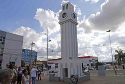 26 de Agosto — Relógio Central — Campo Grande (MS) — 118 Anos em 2017.