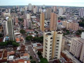 26 de Agosto — Vista panorâmica da cidade — Campo Grande (MS) — 118 Anos em 2017.