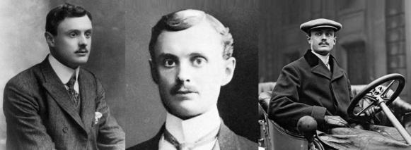 27 de Agosto — 1877 - Charles Rolls, engenheiro automobilístico inglês (m. 1910).