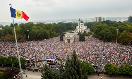 27 de Agosto — 1991 – A Moldávia declarou sua independência da URSS.