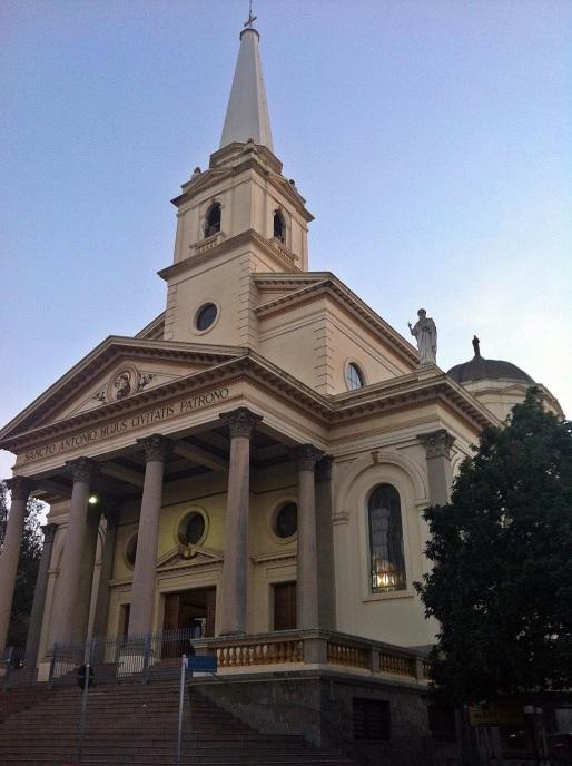 27 de Agosto — Basílica Santuário de Santo Antônio de Pádua, no centro da cidade — Americana (SP) — 142 Anos em 2017.
