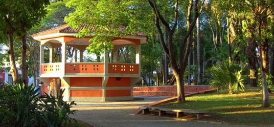 29 de Agosto — Coreto da Praça — Leme (SP) — 122 Anos em 2017.