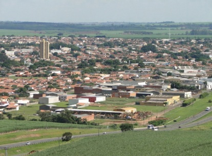 29 de Agosto — Vista panorâmica da cidade — Leme (SP) — 122 Anos em 2017.