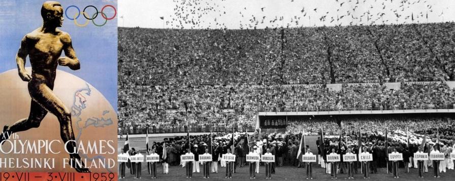 3 de Agosto – 1952 – Fim dos Jogos Olímpicos de Helsinki.