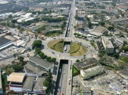 30 de Agosto — Foto aérea da cidade — Contagem (MG) — 106 Anos em 2017.