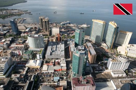 31 de Agosto — 1962 – Trinidad e Tobago alcança independência do Reino Unido. Foto de Porto de Espanha, capital de Trinidad e Tobago.