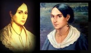 4 de Agosto – 1849 — Anita Garibaldi, companheira do revolucionário Giuseppe Garibaldi (n. 1821).
