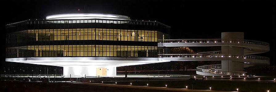 5 de Agosto – Vista noturna da Estação Cabo Branco de Ciência, Cultura e Artes — João Pessoa (PB) — 432 Anos em 2017.