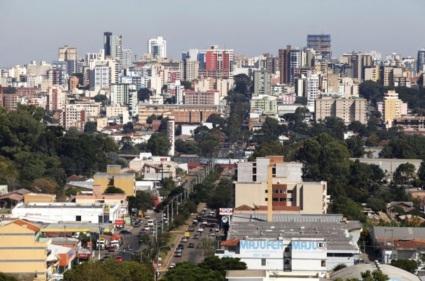 7 de Agosto – Vista panorâmica da cidade — Passo Fundo (RS) — 160 Anos em 2017.
