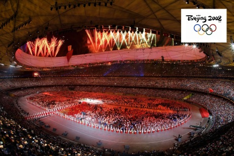 8 de Agosto – 2008 – Cerimônia de Abertura dos Jogos da XXIX Olimpíada em Pequim