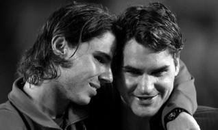 8 de Agosto – Roger Federer - 1981 – 36 Anos em 2017 - Acontecimentos do Dia - Foto 15 - Com Rafael Nadal.