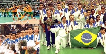 9 de Agosto – 1992 — Nos Jogos Olímpicos de Barcelona, a Seleção Brasileira de Voleibol Masculino conquista a primeira medalha de ouro olímpica em esportes coletivos para o Brasi