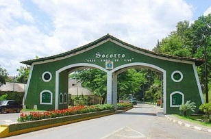 9 de Agosto – Entrada da cidade — Socorro (SP) — 188 Anos em 2017.