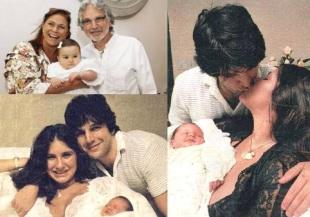 9 de Agosto – Fafá de Belém - 1956 – 61 Anos em 2017 - Acontecimentos do Dia - Foto 20 - Com Raul Mascarenhas, a filha e a neta.