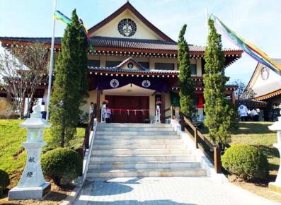1 de Setembro – Templo Honpa Hongwaji - Pórtico japonês — Mogi das Cruzes (SP) — 457 Anos em 2017.