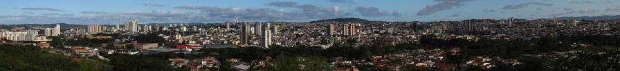 1 de Setembro – Vista panorâmica de Mogi, a partir da Serra do Itapety — Mogi das Cruzes (SP) — 457 Anos em 2017.