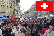 10 de Setembro – 2002 – Suíça é admitida como Estado-Membro da ONU. Foto de Berna, capital administrativa da Suiça.