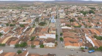 11 de Setembro – Foto aérea da cidade — Araripina (PE) — 89 Anos em 2017.