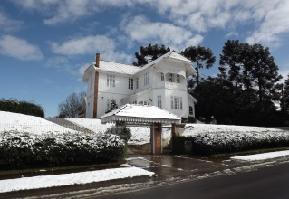 12 de Setembro – Neve durante o inverno — Canoinhas (SC) — 106 Anos em 2017.