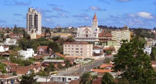 12 de Setembro – Panorâmica da cidade — Canoinhas (SC) — 106 Anos em 2017.