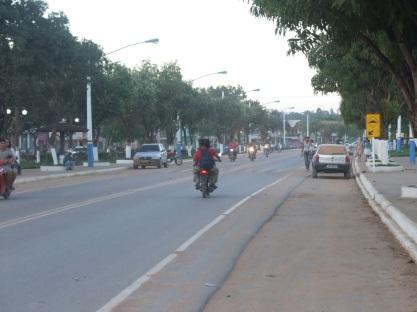 13 de Setembro – Avenida da cidade — Uruará (PA) — 30 Anos em 2017.