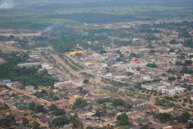 13 de Setembro – Foto aérea da cidade — Uruará (PA) — 30 Anos em 2017.
