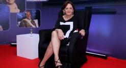 13 de Setembro – Laura Cardoso - 1927 – 90 Anos em 2017 - Acontecimentos do Dia - Foto 17 - 13.ago.2013 - Laura Cardoso no lançamento do programa 'Damas da TV', do canal Viva, no Ri