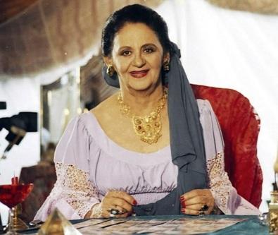 13 de Setembro – Laura Cardoso - 1927 – 90 Anos em 2017 - Acontecimentos do Dia - Foto 4 - Laura Cardoso viveu uma cigana em Explode Coração.
