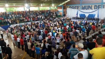 13 de Setembro – Posse dos membros do Legislativo e do Executivo da cidade, em 2016 — Uruará (PA) — 30 Anos em 2017.