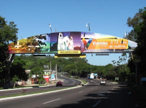 14 de Setembro – Entrada da cidade — Viamão (RS) — 276 Anos em 2017.