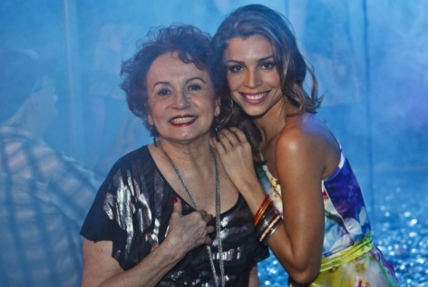 14 de Setembro – Joana Fomm - 1939 – 78 Anos em 2017 - Acontecimentos do Dia - Foto 13 - Joana Fomm contracenou com Grazi Massafera em 'As Cariocas' (2010).