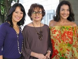 14 de Setembro – Joana Fomm - 1939 – 78 Anos em 2017 - Acontecimentos do Dia - Foto 18 - Geovanna Tominaga, Joanna Fomm e Betty Faria.