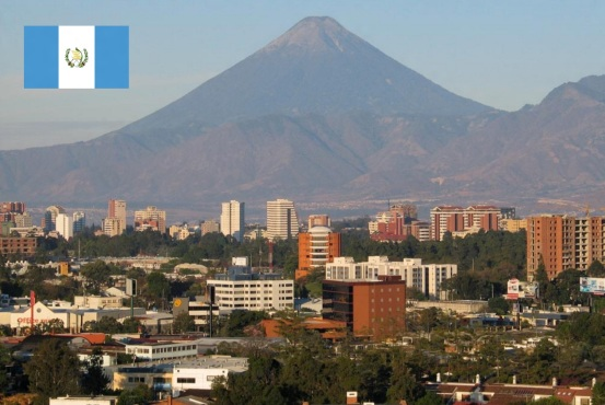 15 de Setembro – 1821 – A Guatemala declara sua independência da Espanha. Foto da Cidade da Guatemala, capital da Guatemala.