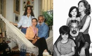 15 de Setembro – Fernanda Torres - 1965 – 52 Anos em 2017 - Acontecimentos do Dia - Foto 15 - Fernanda Torres com os pais e o irmão, ainda criança.
