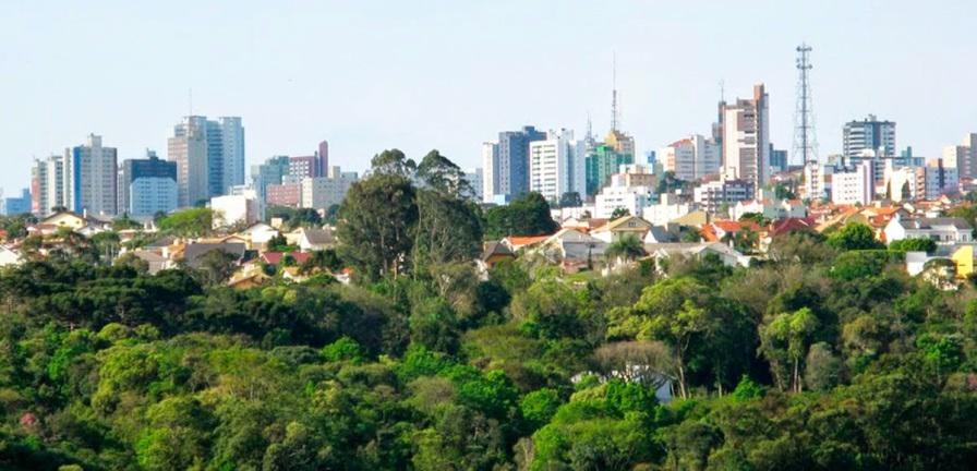 15 de Setembro – Vista panorâmica da cidade — Ponta Grossa (PR) — 194 Anos em 2017.