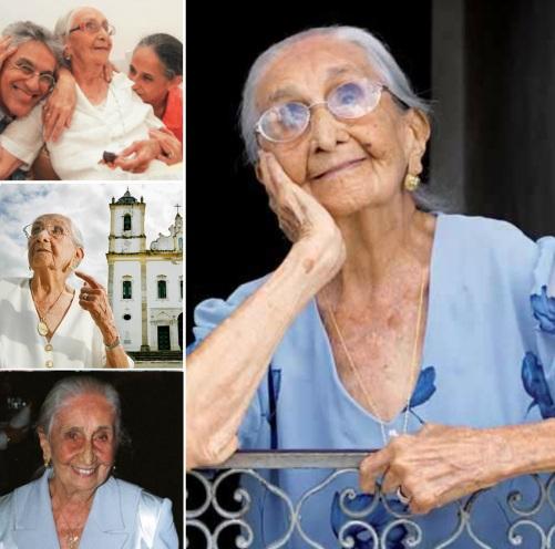 16 de Setembro – 1907 - Dona Canô, mãe dos cantores Caetano Veloso e Maria Bethânia (m. 2012).