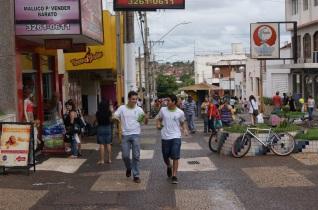 16 de Setembro – Calçadão do comércio — Ituiutaba (MG) — 116 Anos em 2017.