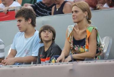 16 de Setembro – Carolina Dieckmann - 1978 – 39 Anos em 2017 - Acontecimentos do Dia - Foto 11 - Carolina Dieckmann com os filhos Davi, de 18 anos, e José, de 10.