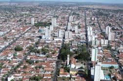 16 de Setembro – Foto aérea da cidade — Ituiutaba (MG) — 116 Anos em 2017.